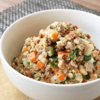 ご飯のお供に たっぷり野菜の炒め納豆