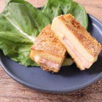 高野豆腐のハムカツ
