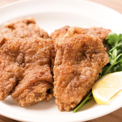 鶏もも肉でサクッとジューシーフライドチキン