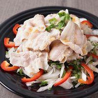 豚肉と長ねぎのタイ風サラダ