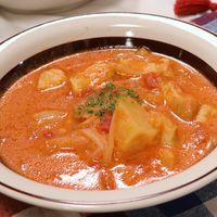 鍋一つで簡単トマトシチュー