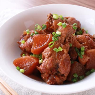炊飯器で簡単 鶏手羽元ほろほろ煮