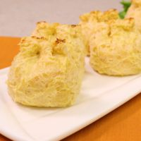 トースターで作れる!揚げない簡単カニカマクリームコロッケ