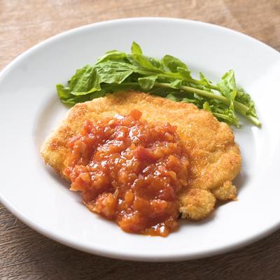 【菊地シェフ】鶏むね肉のコルドン・ブルー