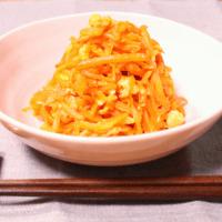沖縄家庭料理!にんじんしりしり