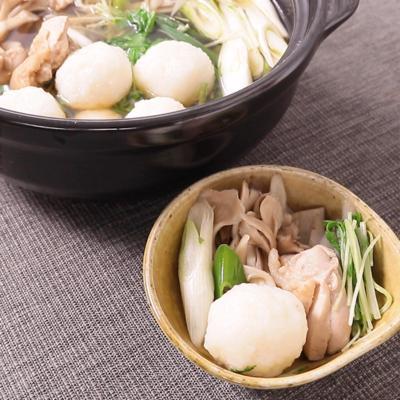 秋田の味をご家庭で だまこ鍋