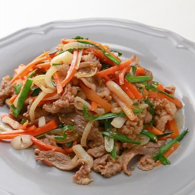 韓国料理の定番 プルコギ