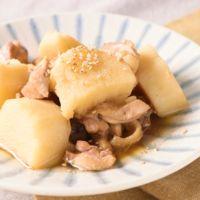 簡単 長芋と鶏肉のほくほく煮