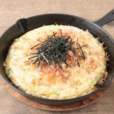 スキレットで 大和芋のふわふわステーキ