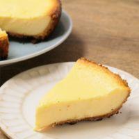 フライパンで 濃厚チーズケーキ
