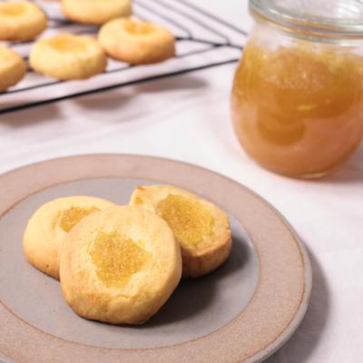 簡単りんごジャムクッキー