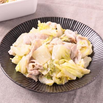 食べ応えあり 白菜と豚肉のマヨネーズ和え
