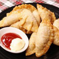 魚肉ソーセージの揚げ餃子