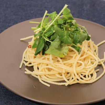 シンプル オイルサーディンのスパゲティ
