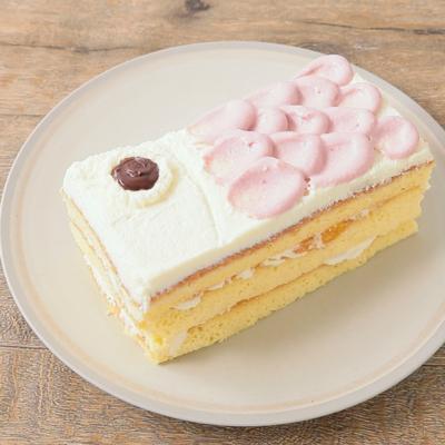 フルーツたっぷり ホワイトチョコの鯉のぼりケーキ