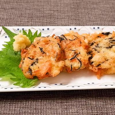 カリとろ  豆腐と長芋のふんわり揚げ