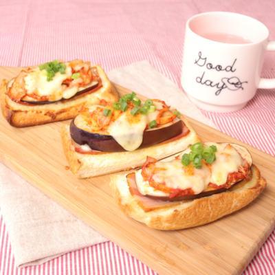 パン耳で一品!韓国スタイルの簡単ピザトースト