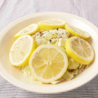 レンジで簡単 キャベツときのこのさっぱりレモン蒸し