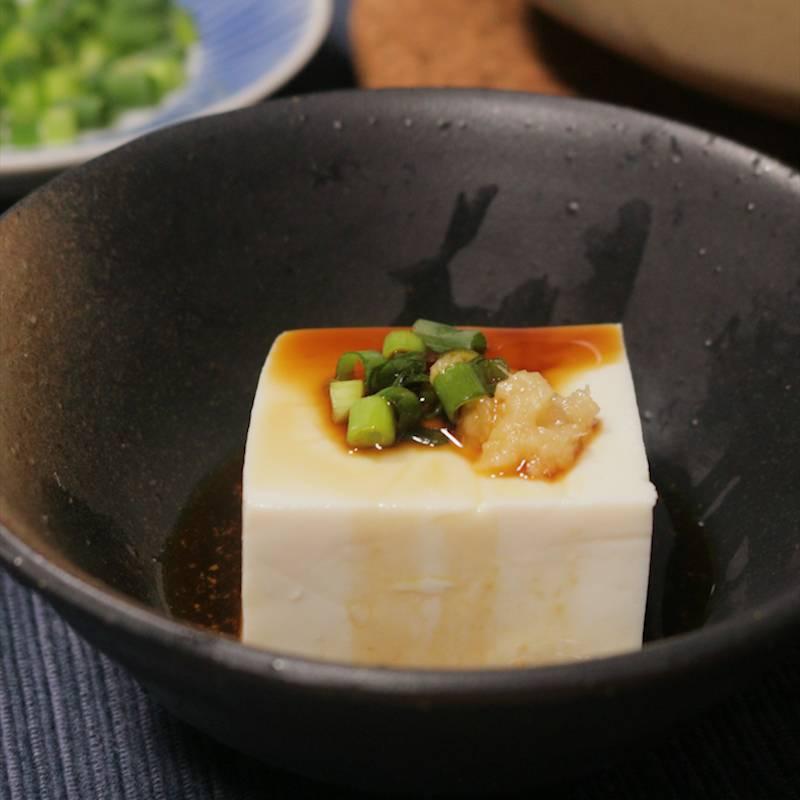 ほっこり お鍋で作れる絹ごし湯豆腐