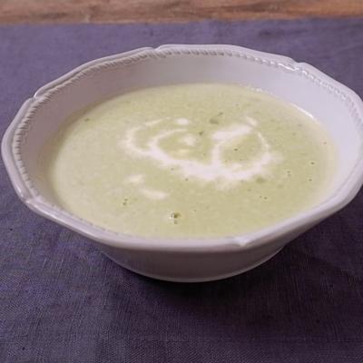 グリンピースのポタージュスープ