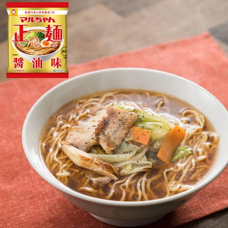 ごま油香る肉野菜正麺(醤油味) レシピ・作り方