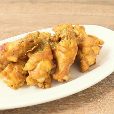 トースターで簡単 鶏手羽元のタンドリーチキン風