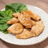 お弁当に鶏むね肉の簡単生姜焼き