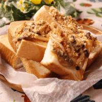 きのこdeナポリタンdeウマトースト
