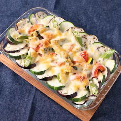 彩り野菜の焼きカレー