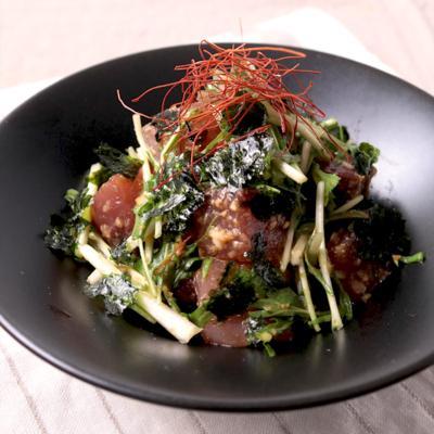 カツオの韓国風サラダ
