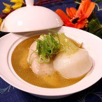 カブと鶏手羽の中華スープ