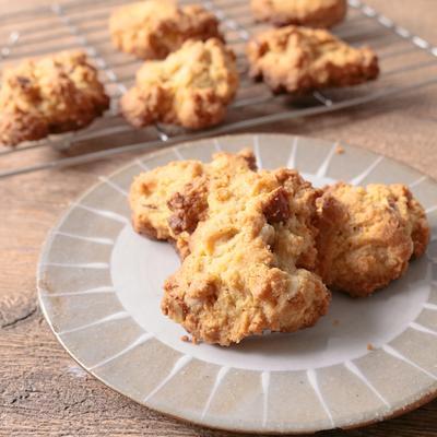 低糖質スイーツ ナッツたっぷりドロップクッキー