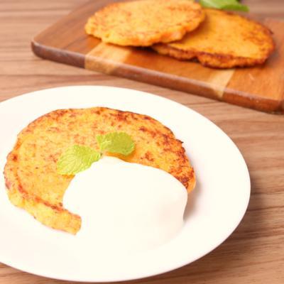 砂糖不使用 野菜パンケーキ