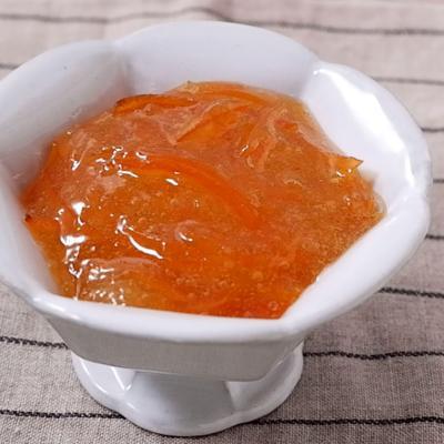 橙でつくるマーマレードジャム