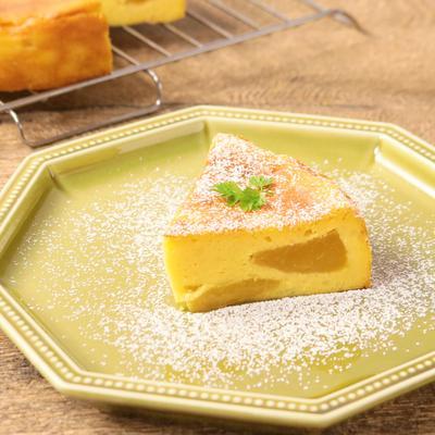 ゴロゴロマンゴーのベイクドチーズケーキ
