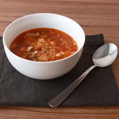 簡単 キムチスープ