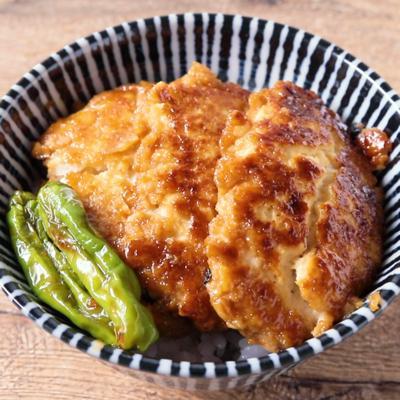 豆腐の蒲焼き丼