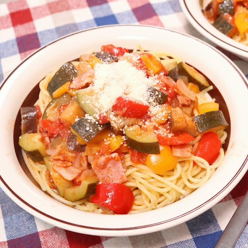 彩り鮮やか 野菜たっぷりラタトゥイユ