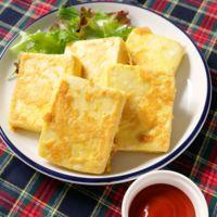高野豆腐でダブルチーズピカタ