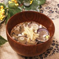 ぽかぽかあったか しじみの生姜スープ