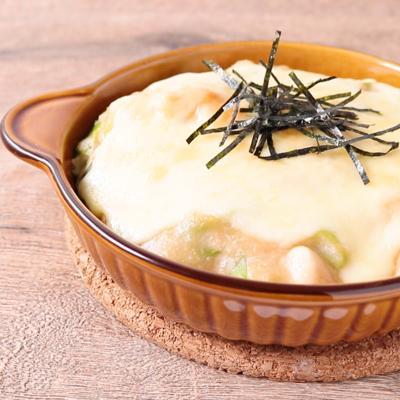 鶏ささみと長芋の玄米ドリア