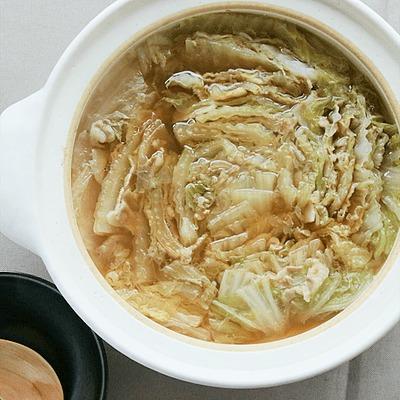 簡単うまうま 白菜と豚バラのミルフィーユ鍋
