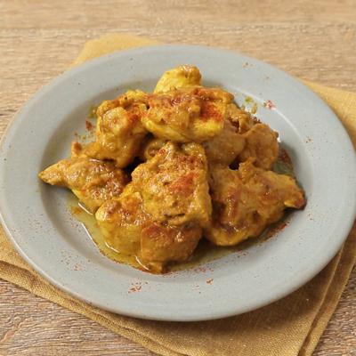鶏もも肉の簡単タンドリーチキン