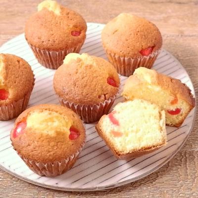 ドレンチェリーのカップケーキ