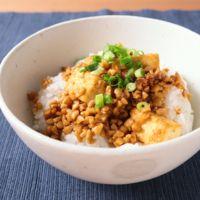 麻婆納豆丼