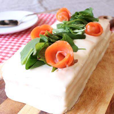 甘くない!まるでケーキみたいなサンドイッチ