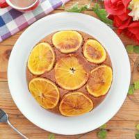 炊飯器で オレンジココアケーキ