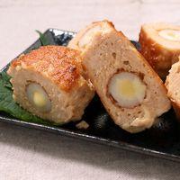ちくわとチーズの鶏つくね焼き