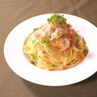 がっつり食べよう!豚バラ大根スパゲティ