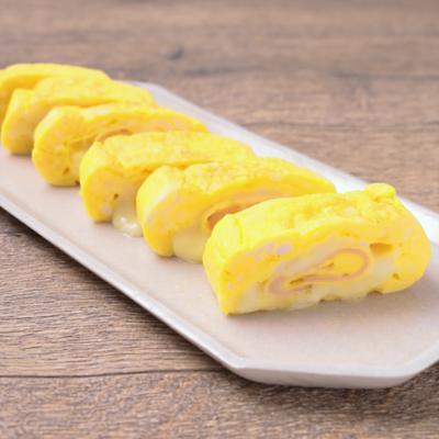 ハムチーズの卵焼き